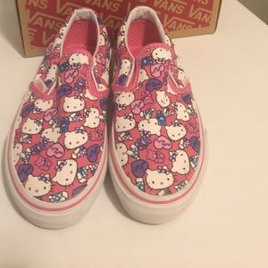 Hello Kitty VANS. Size girls 13